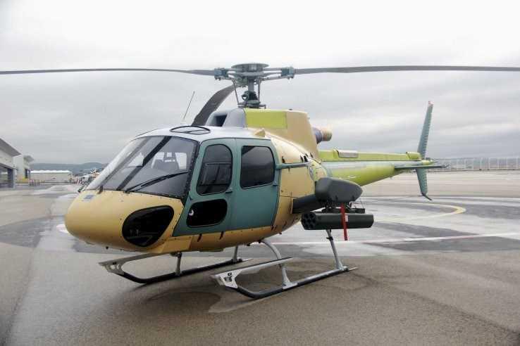 Trực thăng H125M tích hợp module vũ khí GWC
