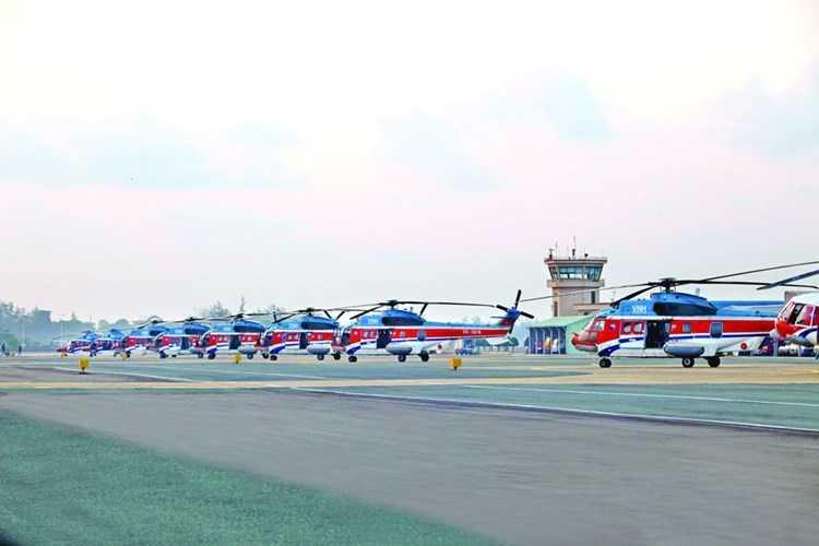 Dàn trực thăng đa dụng EC225 của Việt Nam, có thể trang bị module vũ khí GWC