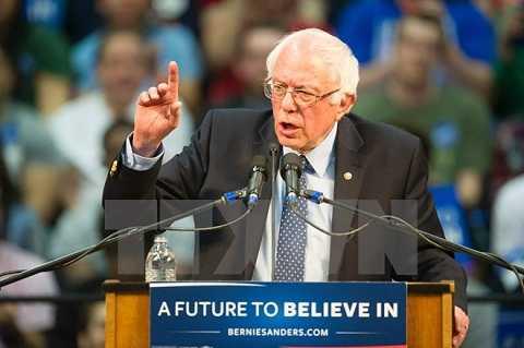 Thượng nghị sỹ Bernie Sanders. (Nguồn: AFP/TTXVN)