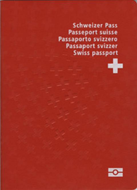 Hộ chiếu màu đỏ tươi của Thụy Sĩ