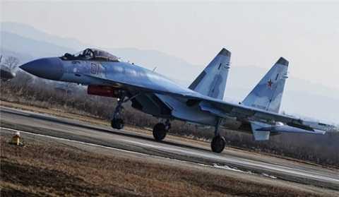 Chiến cơ Su-35 của Nga ở Syria