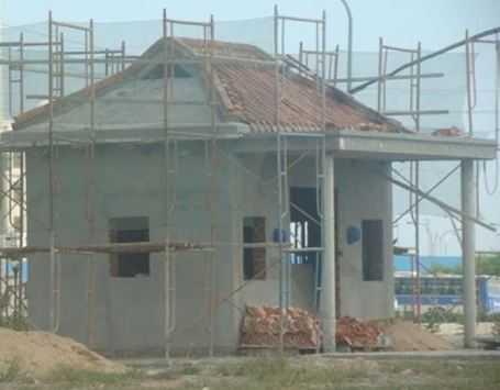 Miếu thờ được xây dựng trong fomosa