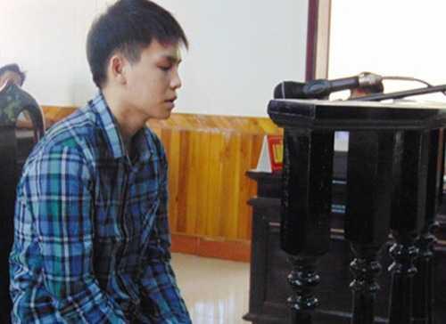 Bị cáo Phạm Đình Đương tại phiên tòa sơ thẩm
