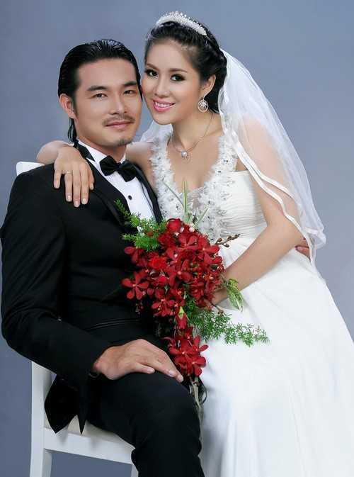Ảnh cưới của Lê Phương và Quách Ngọc Ngoan.