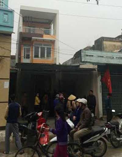 Ngôi nhà hai vợ chồng ông Trần Văn Hải và bà Văn Thị Thắng
