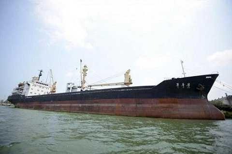 Tàu vận tải Mu Du Bong, một trong 31 con tàu của công ty OMM