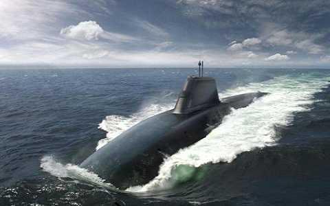 Hình ảnh tàu ngầm Successor trong tương lai của Hải quân hoàng gia Anh (Royal Navy). Ảnh: BAE Systems.