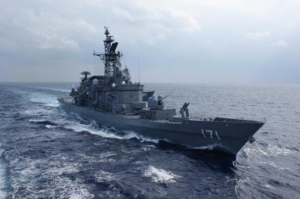Tàu chiến của Lực lượng Phòng vệ Biển Nhật Bản