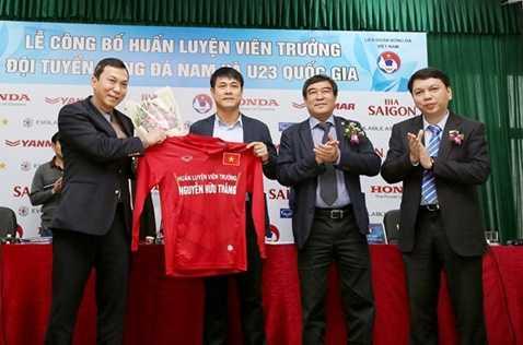 HLV Hữu Thắng sẽ dẫn dắt tuyển quốc gia và U.23 Việt Nam trong 2 năm