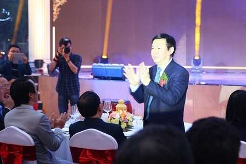 Ông Vương Đình Huệ, Ủy viên Bộ Chính trị, Trưởng ban Kinh tế Trung ương.