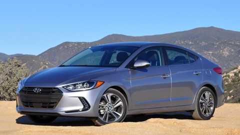 Phiên bản tiêu chuẩn của Hyundai Elantra 2017 có giá chỉ từ 17.150 USD