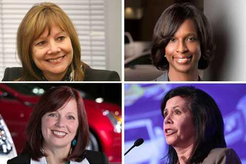 Ngoài Chủ tịch Mary Barra, GM   cũng được xem là cái nôi của những người phụ nữ quyền lực khác như Grace   Liablein và Alicia Boler-Davis...