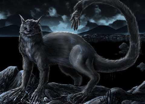 1. Quái vật Ahuitzotl, một quái vật lòng   hồ trong thần thoại của người Aztec, trong ngôn ngữ Aztec Nahuatl ở   Mexico, Ahuitzotl có nghĩa là chó nước. Trong những câu chuyện truyền   thuyết, con quái vật này có hình dáng của một con linh cẩu nhưng lớn hơn   nhiều, đuôi to khỏe, có hình bàn tay khỉ, dùng để bắt người. Chúng có   thể bắt chước tiếng kêu của một đứa trẻ hoặc phụ nữ đang quẫn trí để thu   hút mọi người đến nơi nguy hiểm. Khi bắt được nạn nhân, Ahuitzotl sẽ   móc mắt, vặt răng, rút móng tay của nạn nhân để ăn.