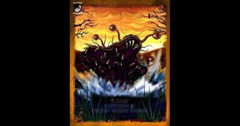 """4. Quái vật El Cuero, trong tiếng Tây Ban   Nha, El Cuero có nghĩa là """"quái vật da bò"""". Con quái thú huyền thoại   này náu thân ở vùng hồ Lacar thuộc dãy núi Andes, thân hình của nó trải   rộng với cái đầu không có lông và xương sống, trên đầu mọc những con mắt   dài, nhô hẳn ra ngoài có khả năng nhìn bốn phương tám hướng. Cái miệng   của El Cuero cực lớn, dùng để hút khô máu nạn nhân."""