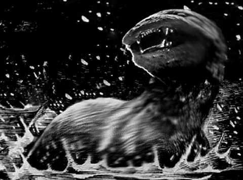 5. Quái vật Dobhar-Chu, trong truyền   thuyết Ireland, Dobhar-Chu là một quái vật khổng lồ có hình dạng nửa sói   nửa rái cá, nó có một làn da chém không đứt, bắn không thủng và khát   máu vô độ. Trong một số phiên bản, nhiều người tin rằng những con cá sấu   tử thần chính là hóa thân của quái vật Dobhar-Chu.