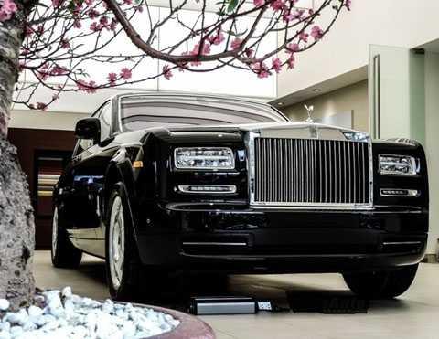 Chiếc Rolls-Royce của một đại gia bao bì. (Ảnh: GĐVN)