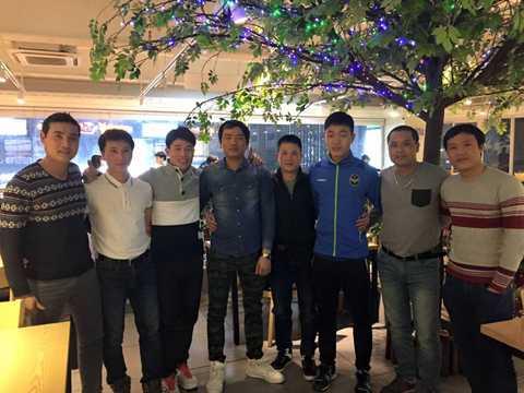 Xuân Trường họp fan tại Hàn Quốc