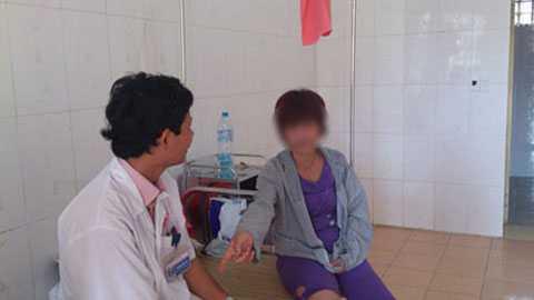 Một nữ bệnh nhân bị trầm cảm nặng vì đói