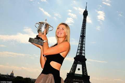 Sharapova từng giành 5 Grand Slam trong sự nghiệp, trên cả bốn mặt sân.