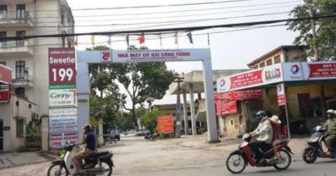 Nhà máy Cơ khí công trình 199 Minh Khai. Ảnh: Vũ Quang