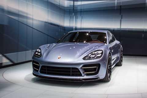4. Porsche Panamera Hybrid.