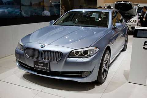7. BMW ActiveHybrid 5.
