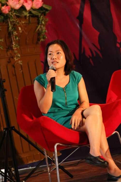 """Đạo diễn Bùi Kim Quy chia sẻ tại hội thảo """"Tôi làm phim"""""""