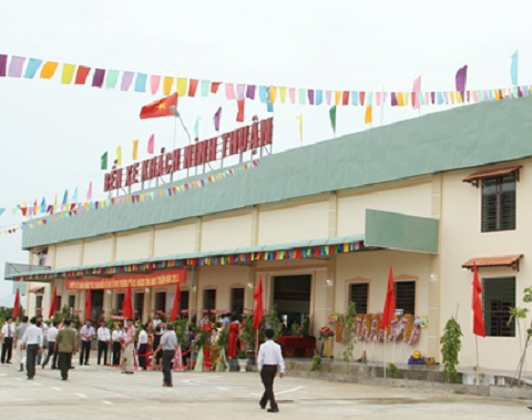 Bến xe khách Ninh Thuận nơi xảy ra vụ việc