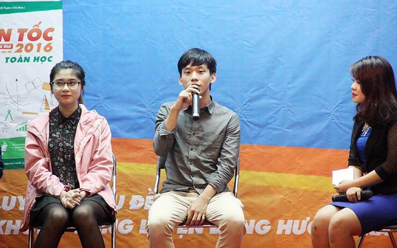 Nguyễn Hữu Bảo Minh chia sẻ bí quyết luyệnd thi độc đáo của bản thân