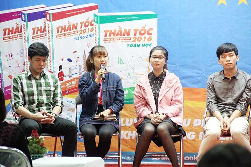 Hoàng Minh Phương, sinh viên năm 2, khoa Kinh tế đối ngoại từng  thi khối A đạt 27 điểm, khối B đạt 27,5 điểm lại khuyên các bạn học sinh lên kế hoạch học tập thật khoa học.
