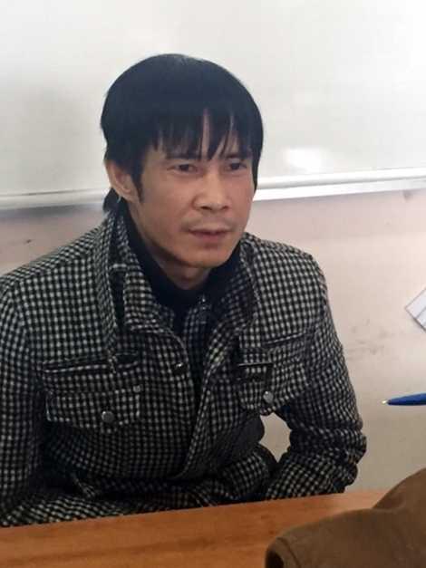Đối tượng Nguyễn Quang Vinh.