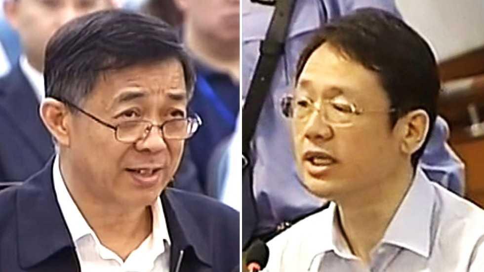 Bạc Hy Lai và Từ Minh tại tòa