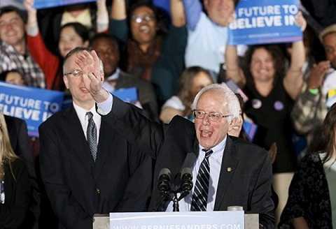 Bernie Sanders có vẻ là một ứng viên