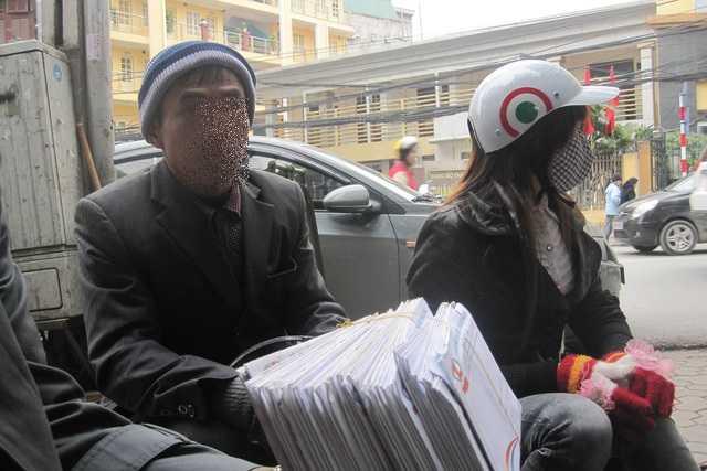 Tập mã khách hàng của các nạn nhân quê ở Lạng Sơn, Hải Phòng vụ MB24 trước đây. Ảnh: C.Tâm