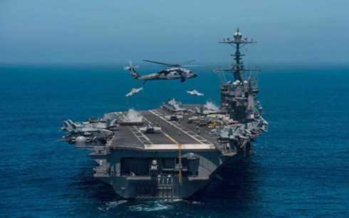 Tàu sân bay USS John C. Stennis của Hải quân Mỹ