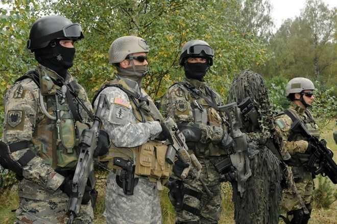 Lực lượng đặc nhiệm Mỹ ở Syria