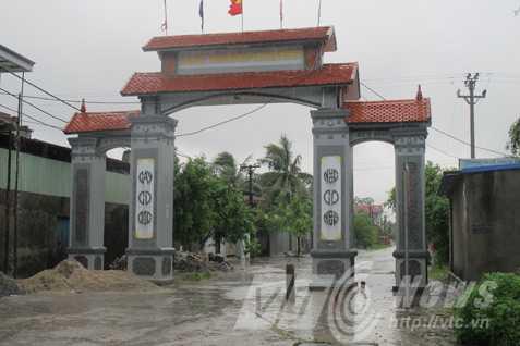 Làng Kinh Triều, nơi sinh ra nhóm cướp