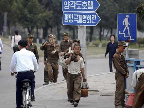 Đường phố Triều Tiên