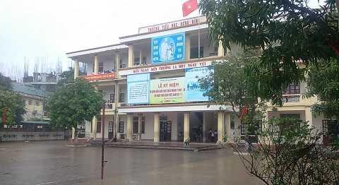 Trường tiểu học Hưng Bình nơi xảy ra sự việc- Ảnh: Hồng Thắng