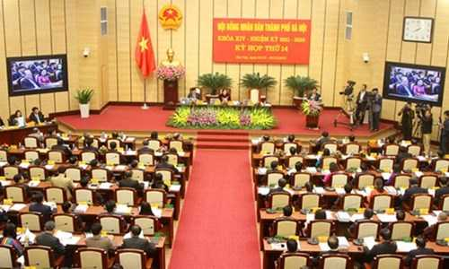 HĐND TP Hà Nội sẽ triệu tập kỳ họp bất thường để kiện toàn nhân sự (ảnh minh họa)