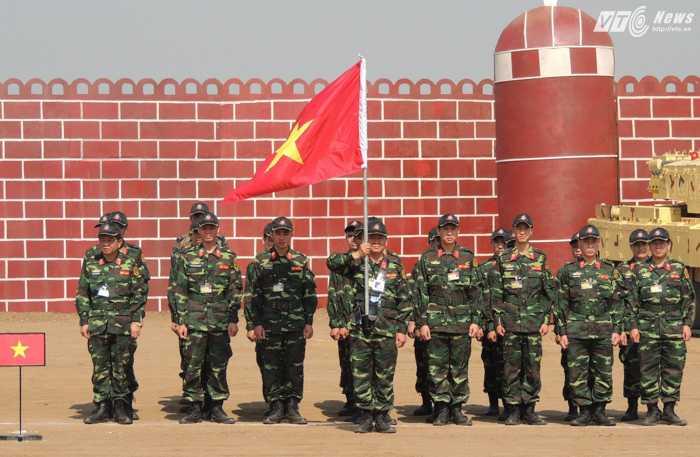 Đoàn Việt Nam tham dự lễ bế mạc