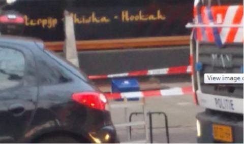 Chiếc hộp đựng đầu người được phát hiện cạnh một quán cà phê