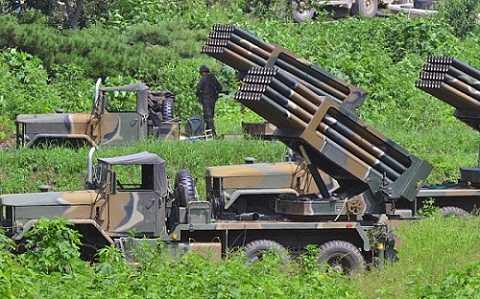 Hệ thống phòng thủ tên lửa của Hàn Quốc. (Nguồn: Telegraph)