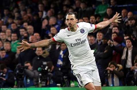 Ibrahimovic tỏa sáng rực rỡ đêm qua