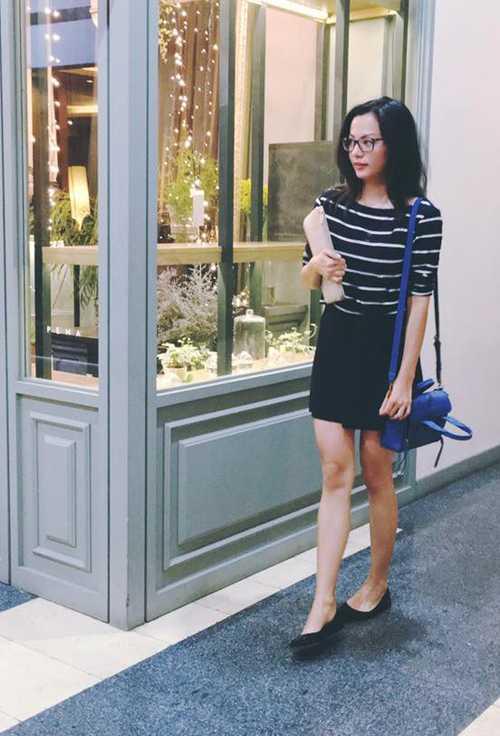 Ngọc Thúy đang có mặt tại Việt Nam, tận hưởng những ngày thảnh thơi ở   quê nhà trước khi lên xe hoa với người chồng thứ hai là luật sư Trường.