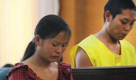 Đôi vợ chồng trẻ bị buộc tội bắt cóc và buôn bán trẻ em. Ảnh Shanghaiist