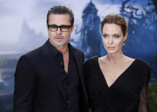 Brad Pitt và Angelina Jolie, cặp đôi vàng của Hollywood (Nguồn: ibtimes.co.uk)