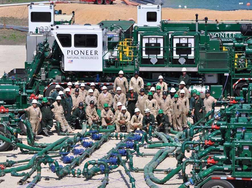 Đội ngũ và máy móc hùng hậu của Pioneer Natural Resources