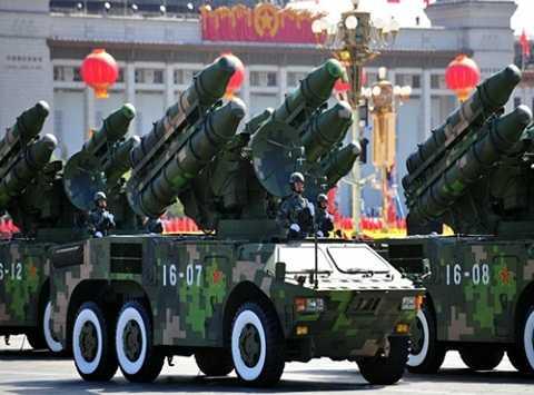 Trung Quốc trở thành nước xuất khẩu vũ khí nhiều thứ 3 thế giới