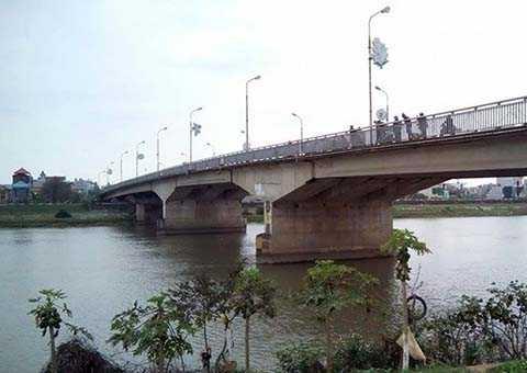 Cầu Bo, TP Thái Bình, nơi xảy ra vụ việc